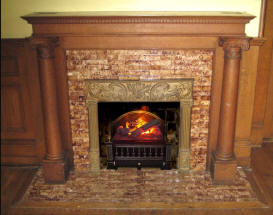 Coal Basket Electric Fireplace Insert Fireplaces